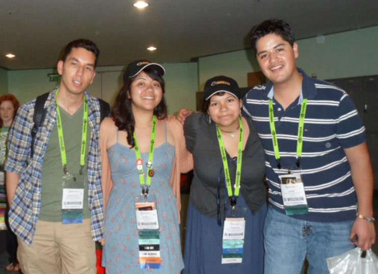 Emily Carr's students at SIGGRAPH 2012!