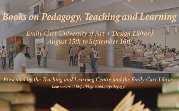Further your Teaching Practice: Books on Pedagogy, Teaching and Learning at the Library