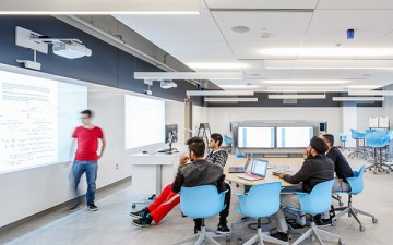 Classrooms are getting a makeover to accommodate new forms of teaching
