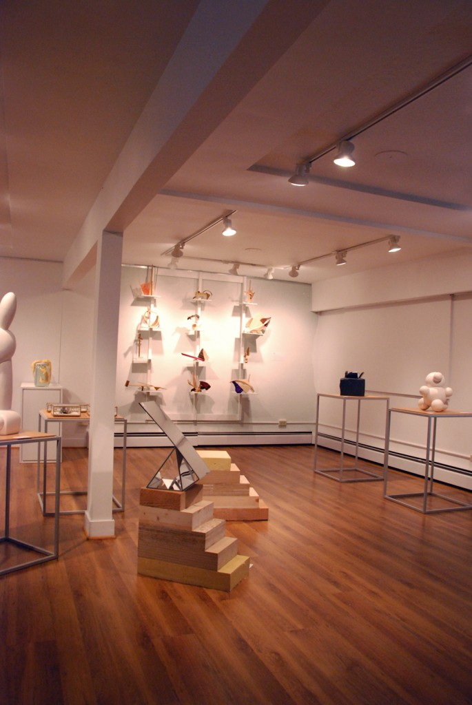installation in gallery view