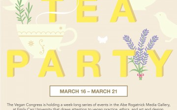 Vegan Tea Party! and other lunchtime events