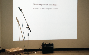 Compassion Manifesto reading, March 19, 2015